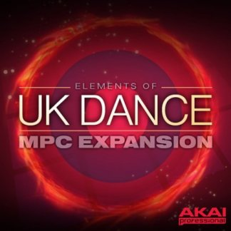 AKAI MPC Software Expansion Elements Of UK Dance