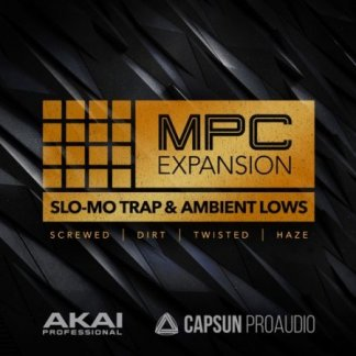 AKAI MPC Software Expansion Slo-Mo Trap+Ambient Lows