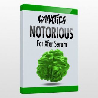 Cymatics Notorious for Xfer Serum