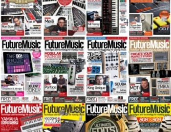 Future Music - 2015 Full Year Issues Collection