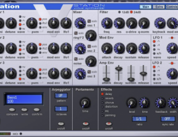 Novation V-Station v2.6 x86 x64