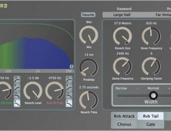 Exponential Audio R2 Stereo Reverb v6.0.1a x64