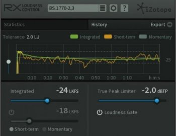iZotope RX Loudness Control v1.03a x86 x64