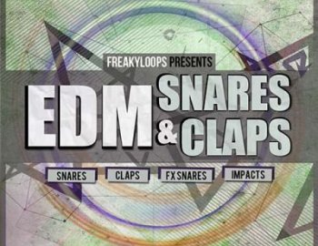 Freaky Loops EDM Snares and Claps