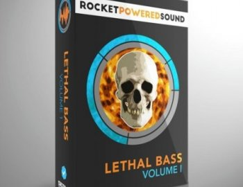 Rocket Powered Sound Lethal Bass Vol. 1 for xfer Serum