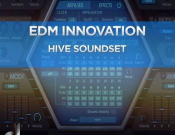 DUSTONS - EDM Innovation Vol.2 for u-he Hive