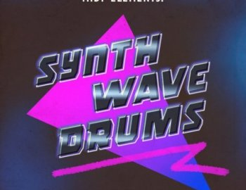 Sample Magic SM101 MIDI Elements Synthwave Drums