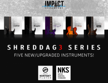 Impact Soundworks - Shreddage 3 Series Bundle (KONTAKT)
