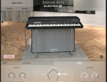 e-instruments Session Keys Electric S (KONTAKT)