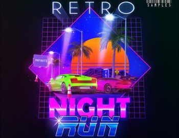 Kryptic Samples Retro Night Run