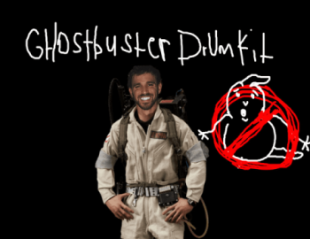 Cxdy - Ghostbusters Drum Kit