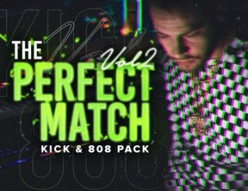 IndustryKits The Perfect Match Vol 2 Kick and 808 Pack
