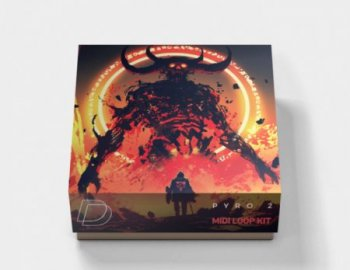 DrumVault Pyro 2 MIDI and Loop Kit