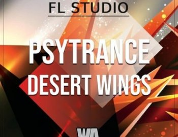 W.A. Production Psytrance Desert Wings Template