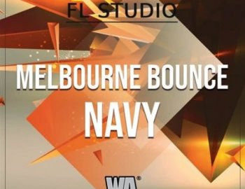 W.A. Production Melbourne Bounce Navy