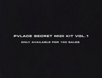 PVLACE Secret MIDI Kit Vol.1