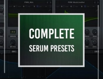 Production Music Live Complete Serum Preset Pack