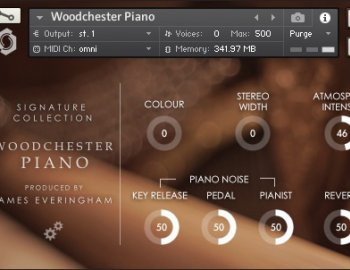 Fracture Sounds Woodchester Piano (KONTAKT)