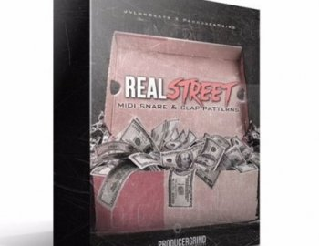 Producergrind Real Street MIDI Snare and Clap Patterns