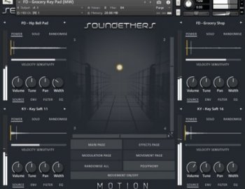 Soundethers Motion (KONTAKT)
