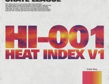 The Crate League - Heat Index Vol.1 Compositions and Stems