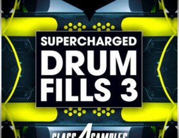 Class A Samples Supercharged Drum Fills Vol 3
