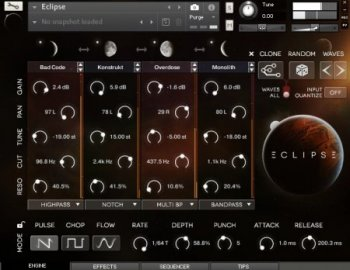 Wide Blue Sound ECLIPSE v1.2.0 (KONTAKT)