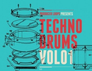 Producer Loops Techno Drums Vol 1