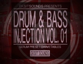 Eksit Sounds Drum And Bass Injection Volume 1 for Serum