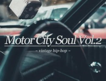 Capsun ProAudio Motor City Soul Vol. 2 Vintage Hip Hop