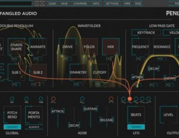 Eventide releases Pendulate free monosynth by Newfangled Audio