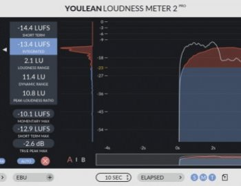 Youlean Loudness Meter Pro 2 v2.4.0 x86 x64