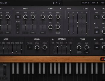 E-Phonic updates Invader 2 software synthesizer instrument to v1.0.8