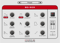 Synsonic releases free BD-909 & BD-808 synth plugins