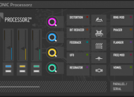 PROCESSORZ° V2 multi-effect for Reaktor 6 – FREE download from Blinksonic°