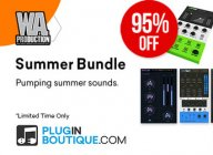 W.A. Production Summer Bundle – 5 plugins for $9.99 USD (incl. InstaScale & Pumper 2)