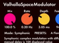 Valhalla SpaceModulator flanger now free for everyone