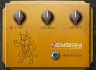 Clon Minotaur: Free transparent overdrive plugin by Nembrini Audio