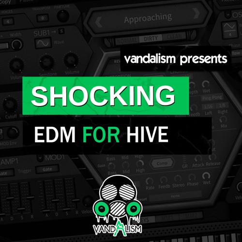 Vandalism Shocking EDM For u-he Hive