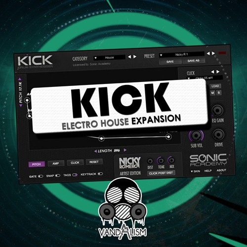 Vandalism KICK Electro House Expansion