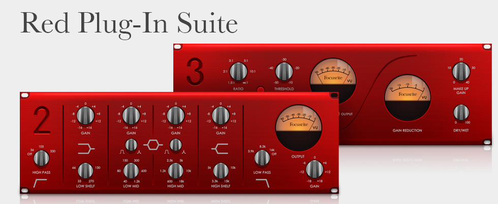 Focusrite Red Plug-In Suite v1.0 x86 x64