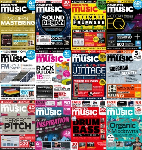 Computer Music - 2015 Full Year Issues Collection