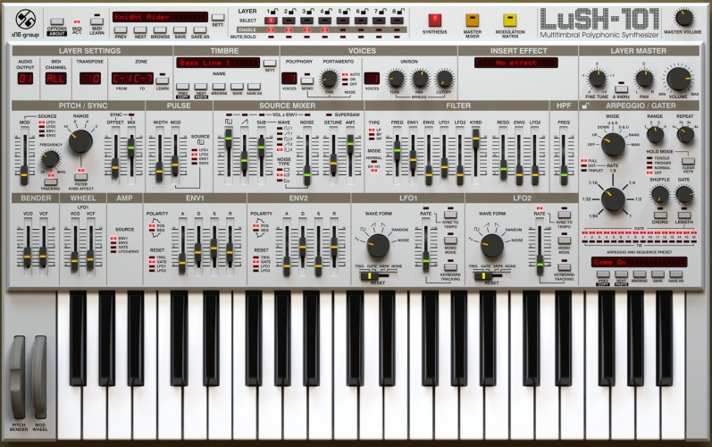 D16 Group Audio Software LuSH-101 v1.1.3 x86 x64