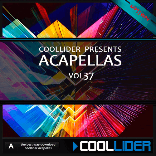 Coollider presents - Acapellas Vol 37
