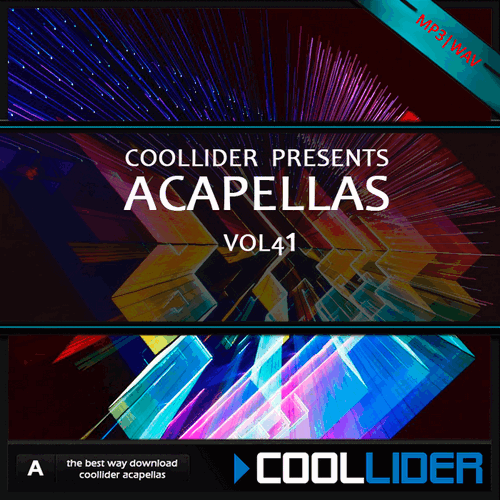 Coollider presents - Acapellas  Vol 41