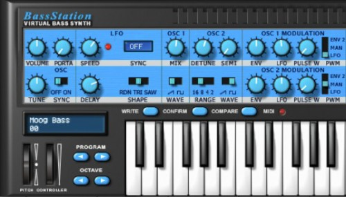 Novation Bass Station v2.2 x86 x64