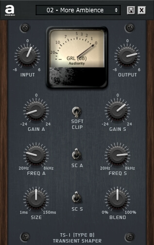 Audiority TS-1 Transient Shaper v1.1 x86 x64