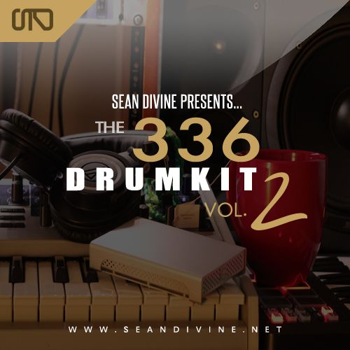 The Producers Choice Sean Divine The 336 Drum Kit Vol.2