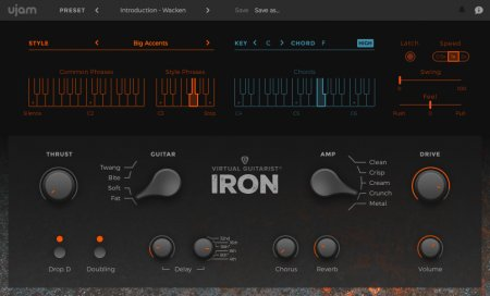 UJAM Virtual Guitarist IRON v1.1.1 x86 x64