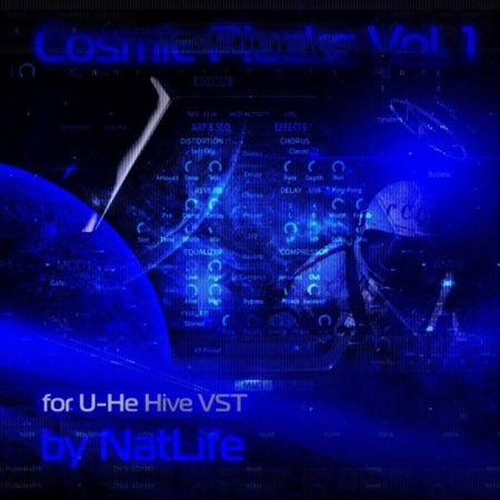 NatLife - Cosmic Pluck vol. 1 for U-He Hive